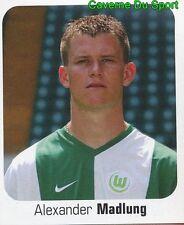 477 ALEXANDER MADLUNG GERMANY VFL WOLFSBURG STICKER FUSSBALL 2007 PANINI