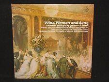 JOHANN STRAUSS / WILLIE BOSKOVSKY ~ Wine, Women and Song (SEALED) ~ U.S. ANGEL