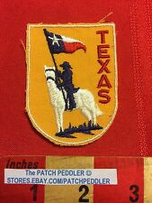 LONE STAR TEXAS PATCH ~ Vintage, Mesh Back ~ Rider On White Horse 5OU9