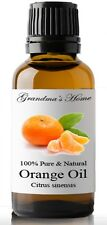 Sweet Orange Essential Oil - 30 mL - 100% Pure and Natural - Free Shipping