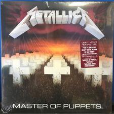 METALLICA - Master of Puppets LP 2017 Remastered 180 Gram Vinyl - Classic Thrash
