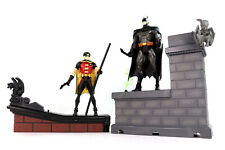 """DC Universe Young Justice Batman & Robin 6"""" Action Figures Mattel USED Complete"""