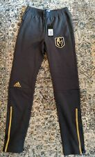 NWT Adidas Vegas Golden Knights pants sz S official pro on-ice apparel NHL $100