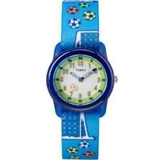 Timex Football Time Teacher Kids Watch TW7C16500