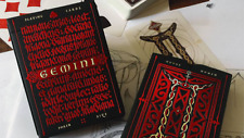 Gemini Ignis Deck Of Playing Cards By Stockholm17 Magic Tricks Games Collector