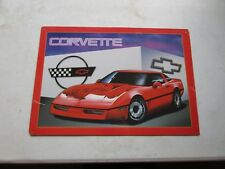 tin metal gasoline service station man cave advertising decor gas oil corvette