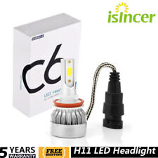 H11 H8 H9 LED Headlight Conversion Kit Hi/Lo Beam 150W 80000LM 6000K White Bulb