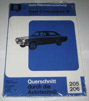 Reparaturanleitung Opel Commodore B (GS + GS/E), Baujahre 1972 - 1977