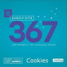 Sunfly Karaoke 367 Brand New Chart Hits for September 2016 Free 1st Class Post