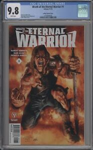 WRATH OF THE ETERNAL WARRIOR #1 - CGC 9.8 - LAROSA LIMITED VARIANT - 3750608008