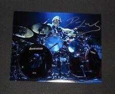 Dave Lombardo Live signed photo 8 x 10 MISFITS TESTAMENT SLAYER