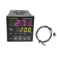 110V Digital PID INKBIRD Temperature Controller ITC-100VH + k sensor Thermostat