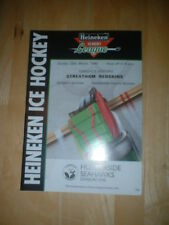 1989/90 HUMBERSIDE SEAHAWKS V STREATHAM REDSKINS  ICE HOCKEY