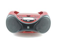 USB Radio CD-Player Digitalradio Dual DAB P101 rot MP3 DAB+