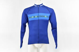 Verge Men's Large Team Sustainable Endurance Long Sleeve Elite Cycling Jersey
