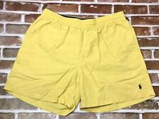Polo Ralph Lauren Pony Board Shorts Swim Trunks Beach XXL Pockets Stretch Waist