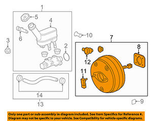 GM OEM-Power Brake Booster 84158514