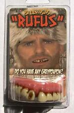 RUFUS TEETH  fake #958 joke bad false hill  billy bob costume NEW GAG FUNNY play