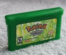 Pokemon Leaf Green - Nintendo Game Boy Advance SP GBA Cartridge Gameboy GBC NDSL
