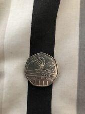 RARE 50p Coin: PUBLIC LIBRARIES COMMEMORATIVE 1850 To 2000