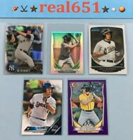2013~2016 BILLY McKINNEY Rookie-Prospect Lot x 5 RC Bowman Chrome Refractor Jays
