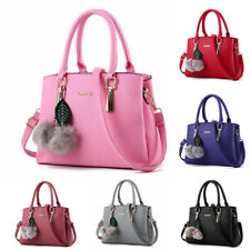 Women Leather Handbags Shoulder Messenger Bags Satchel Crossbody Ladies Tote