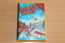 River Raid on Cartridge by Activision for the Commodore 64