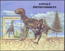 Congo 1999 Dinosaurs/Prehistoric Animals/Reptiles/Nature 1v m/s (s4362a)