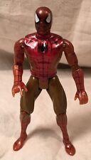 Vintage 1994 Toy Biz Marvel Spider-Man Gold Iron Spider Armor Action Figure
