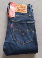 Damen Mädchen Jeans LEVIS LEVI´S 714 Straight Riptide W23 L32