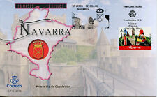 Spain 2018 FDC 12 Months 12 Stamps Navarra 1v S/A Set Cover Architecture Stamps