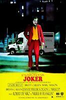 "Movie Poster 2019 DC Comic's and Warner Bros. ""Joker"" Joaquin Phoenix  (3 Sizes)"