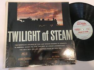 Twilight of Steam Train Vol 1 Shrink Record Mobile Fidelity MFSL audiophile NM