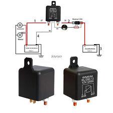 Trennrelais Batterie Startrelais Zusatzbatterie 12 Volt 12V/200A Zweitbatterie