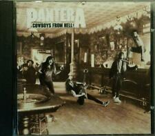 PANTERA Cowboys From Hell ATCO 7567-91372-2 Germany 1990 12tr CD