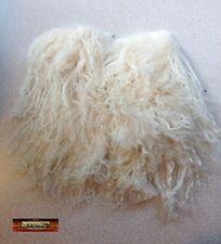 M00294 MOREZMORE Tibetan Lamb Remnants BABY BLONDE Doll Hair Wig T20