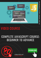 Complete JavaScript Course: Beginner to Advance video course training tutorial