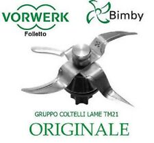 Gruppo coltelli originale Vorwerk Contempora tm31 cod 30525