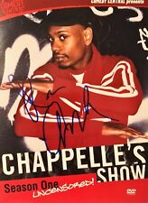 Dave Chappelle DVD Stand Up Comedian Signed  Autographed Season 1