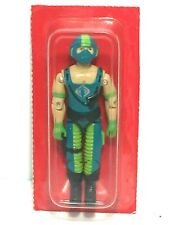 G.I. Joe 1984 COPPERHEAD Sealed in Red Bubble COBRA WATER MOCCASIN PILOT MISB
