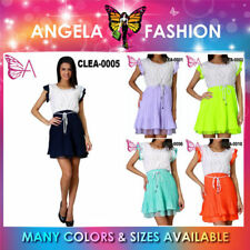 Chiffon Regular Dresses Retro
