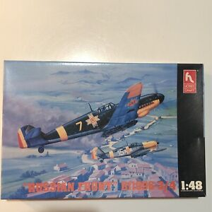 HOBBY CRAFT #HC1543 1/48 Bf109G-3/4 RUSSIAN FRONT FIGHTER BOMBER PLANE AIRCRAFT