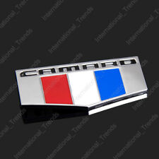 CAMARO Flag Emblem 3D Badge Chevy Nameplate for Chevrolet Camaro SS