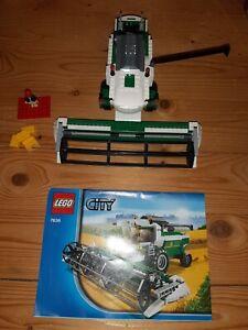 LEGO® Mähdrescher/ Harvester 7636 mit Minifigur!