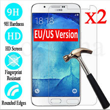 2x Tempered Glass Protective Screen Protector Film fr Samsung Galaxy J1 2 3 5 7