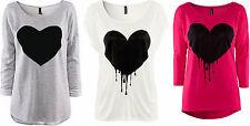 Markenlose gestreifte Kurzarm Damenblusen, - tops & -shirts