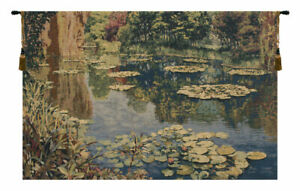 Lake Giverny Without Border Belgian Wall Art Tapestry
