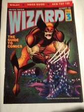 Wizard # 3 , Wolverine Cover