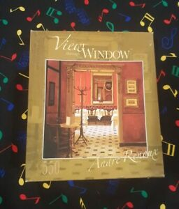 *SEALED* En Rouge VIEW THROUGH WINDOW 550 Piece Jigsaw Puzzle ROSEART free post