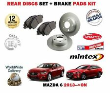 für Mazda 6 2.0 2.2dT GJ 9/2012> nach Bremsscheiben SET HINTEN+Bremsbelagsatz